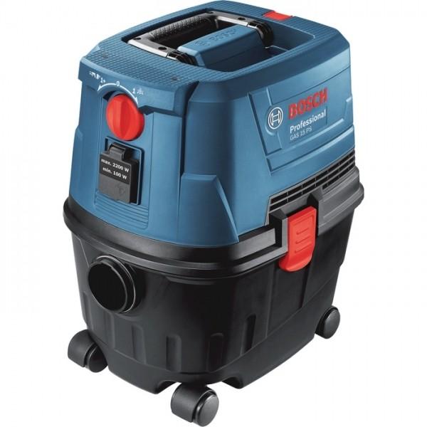 Aspirateur eau et poussière Bosch GAS 15 PS Professional maroc 1