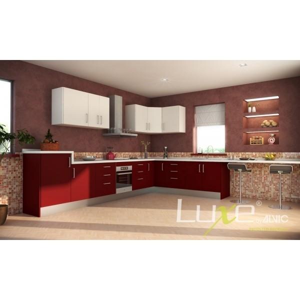 cuisine quip e en panneau mdf alvic gamme luxe outillage maroc. Black Bedroom Furniture Sets. Home Design Ideas