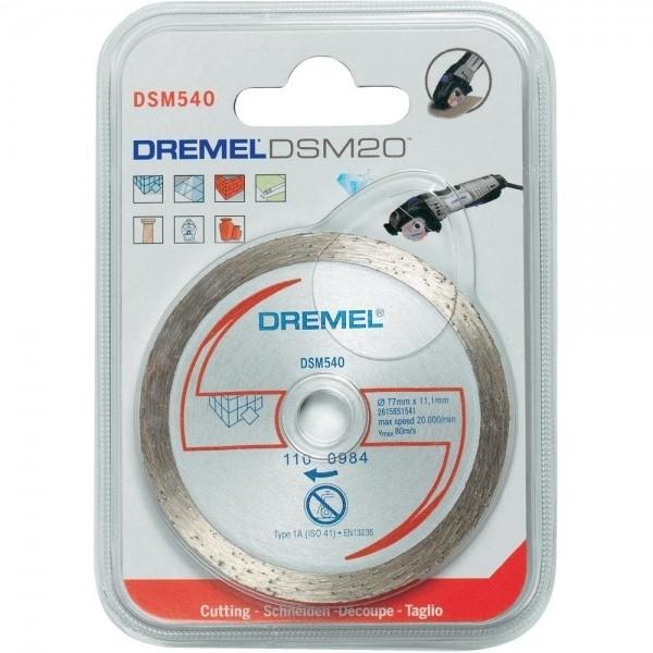 Disque à tronçonner DREMEL DSM 540 maroc 2