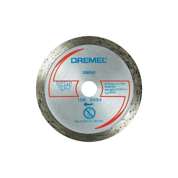 Disque à tronçonner DREMEL DSM 540 maroc