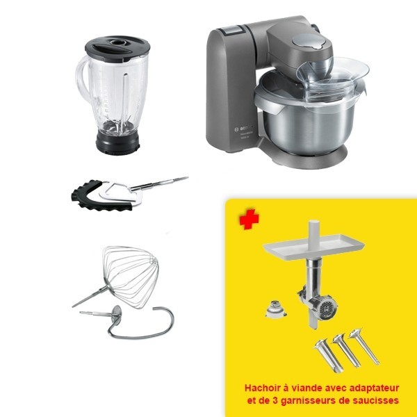 Pack Kitchen Machine BOSCH MUMXL40G + MUZXLHA1 maroc 16