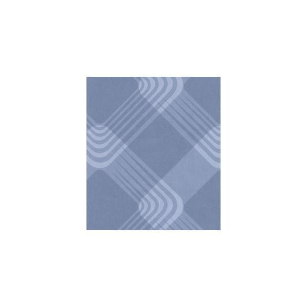 Papier Peint PRIMADECO -Losange bleu ciel 333-04 10m0.50m maroc