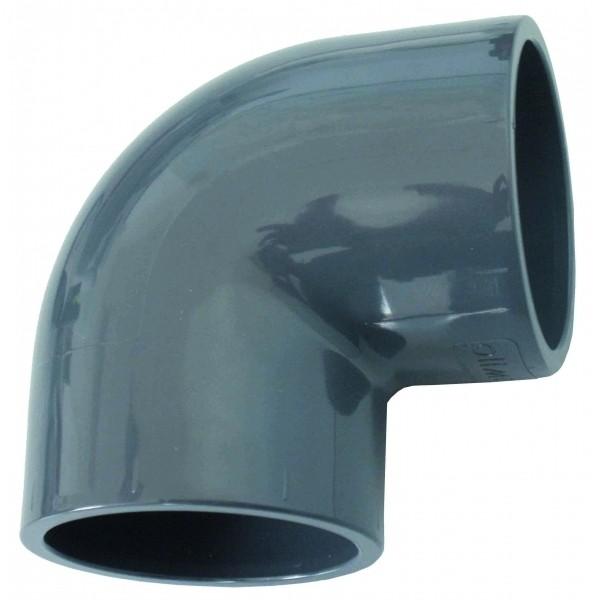 Raccords PVC coude 90° 40mm maroc 4